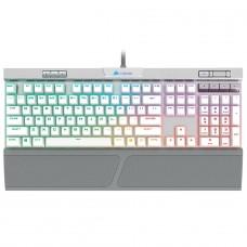 Teclado Mecânico Gamer Corsair K70 RGB MK.2, Switch Cherry MX Speed, ABNT2, White, CH-9109114-NA