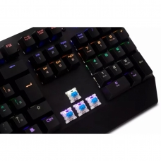 Teclado Mecânico Gamer DAZZ Ballistic, Switch Outemu Blue, ABNT2