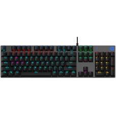 Teclado Mecânico Gamer HP GK400F, Led RGB, Black