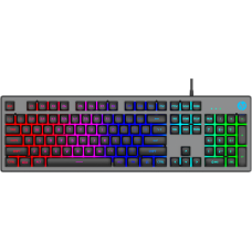 Teclado Gamer HP K500F, Led RGB, Black