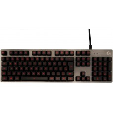 Teclado Mecânico Gamer Logitech G413 Carbon Switch Romer-G Tactile, Led Red, 920-009162