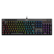 Teclado Mecânico Gamer Redragon K579 Manyu RGB, Switch Blue, ABNT2, Black, K579