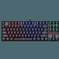 Teclado Mecânico Gamer Redragon Kumara K552 RGB, Switch Black, ABNT2, Black