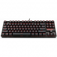 Teclado Mecânico Gamer Redragon Kumara K552, Switch Red, ABNT2, Black