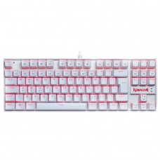 Teclado Mecânico Gamer Redragon Kumara Lunar K552, Switch Blue, Com Led, ABNT2, White