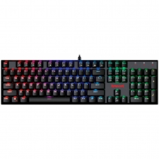 Teclado Mecânico Gamer Redragon Mitra K551 RGB, Switch Black, ABNT2, Black - Open Box