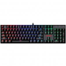 Teclado Mecânico Gamer Redragon Mitra K551 RGB, Switch Blue, ABNT2, Black
