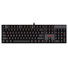 Teclado Mecânico Gamer Redragon Mitra K551, Switch Red, ABNT2, Black