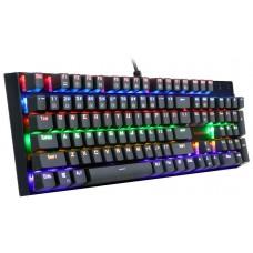 Teclado Mecânico Gamer Redragon Rudra K565R-1, Switch Outemu Blue, Black - Open Box