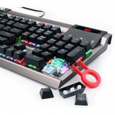 Teclado Mecânico Gamer Redragon Surya K563 RGB, Switch Outemu Blue, Black