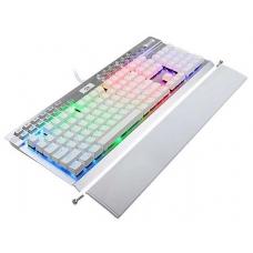Teclado Mecânico Gamer Redragon Yama K550-W RGB, Switch Purple, White