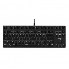 Teclado Mecânico Havit, Switch Outemu Blue, ABNT-2, Black, HV-KB435L