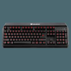 Teclado Mecânico Híbrido Cougar Gamer 450K, ABNT, Black, 37450XNMB.0004