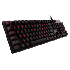 Teclado Mecânico Gamer Logitech G413 Carbon Switch Romer-G Tactile, Led Red
