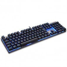 Teclado Mecânico Motospeed CK104, Black, RGB, Switch Red, FMSTC0068PTO