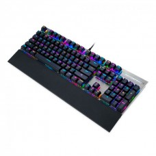 Teclado Mecânico Motospeed CK108 K92, Black, RGB, Switch Blue, FMSTC0047AZL