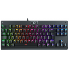 Teclado Mecânico ReDragon, Dark Avenger, RGB, ABNT2, Black, Switch Red, K568-2