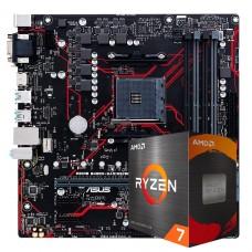 Kit Upgrade, Asus Prime B450M Gaming/BR + AMD Ryzen 7 5700G