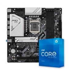 Kit Upgrade, ASRock Z590M Pro4 + Intel Core i5 11600K
