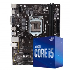 Kit Upgrade Biostar H410MH VER 6.0 + Intel Core i5 10400F