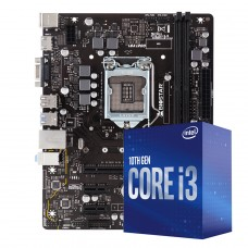 Kit Upgrade Biostar H410MH VER 6.0 + Intel Core i3 10105F