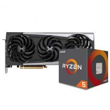 Kit Upgrade Sapphire Radeon RX 6700 XT + AMD Ryzen 5 5600X