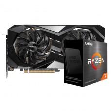 Kit Upgrade ASRock Radeon RX 6700 XT Challenger + AMD Ryzen 7 5800X