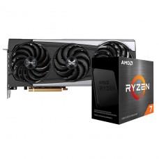 Kit Upgrade Sapphire Radeon RX 6700 XT + AMD Ryzen 7 5800X