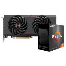 Kit Upgrade Sapphire Pulse Radeon RX 6700 XT + AMD Ryzen 7 5800X