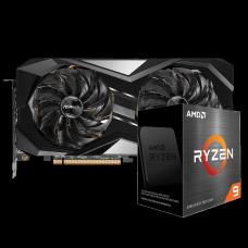 Kit Upgrade ASRock Radeon RX 6700 XT Challenger + AMD Ryzen 9 5900X