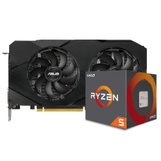 Kit Upgrade ASUS GeForce RTX 2060 OC EVO Dual + AMD Ryzen 5 5600X
