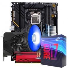 Kit Upgrade ASUS GeForce RTX 2060 OC EVO Dual + Intel Core i7 10700KF + ASUS Z490-Plus TUF Gaming + Geil Orion 16GB (2x8GB) 3000MHz + Brinde Cooler