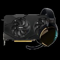 Kit Upgrade ASUS GeForce RTX 2060 OC EVO Dual + ASUS ROG Strix Fusion 500