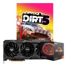 Kit Upgrade ASUS TUF GAMING RADEON RX 6900 XT + AMD Ryzen 7 3700X + Brinde Jogo Dirt 5