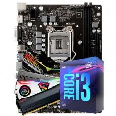 Kit Upgrade, Biostar H310MHP + Intel Core i3 9100F + 16GB DDR4 3000Mhz