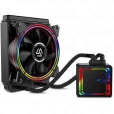 Water Cooler Alseye H120 Black, 120mm, RGB, Intel-AMD