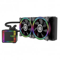 Water Cooler Alseye H240 Black, 240mm, RGB, Intel-AMD