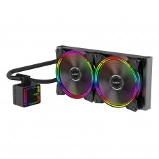 Water Cooler Alseye H280 Black, 280mm, RGB, Intel-AMD