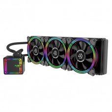 Water Cooler Alseye H360 Black, 360mm, RGB, Intel-AMD