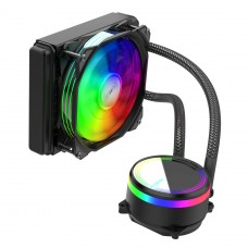 Water Cooler Alseye M120 Black, 120mm, RGB, Intel-AMD