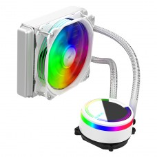 Water Cooler Alseye M120 White, 120mm, RGB, Intel-AMD
