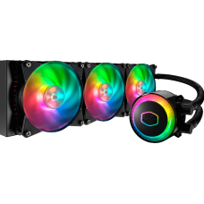 Water Cooler Cooler Master Master Liquid ML360R, RGB 360mm, Intel-AMD,  MLX-D36M-A20PC-R1
