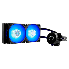 Water Cooler Cooler Master Masterliquid ML240L V2 Blue, 240mm, Intel-AMD, MLW-D24M-A18PB-R2