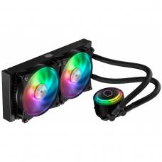 Water Cooler Cooler Master MasterLiquid ML240R, RGB 240mm, Intel-AMD, MLX-D24M-A20PC-R1