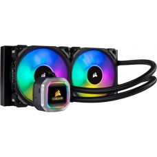 Water Cooler Corsair H100i Platinum, RGB 240mm, Intel-AMD, CW-9060039-WW