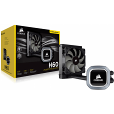 Water Cooler Corsair H60, 120mm, Intel-AMD, CW-9060036-WW