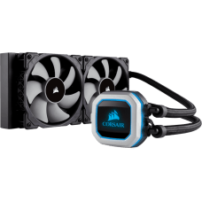 Water Cooler Corsair H100i Pro, RGB 240mm, Intel-AMD, CW-9060033-WW