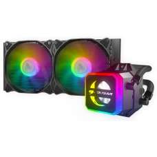 Water Cooler Cougar Helor RGB 240mm, Intel-AMD, RL-HLR240-V1