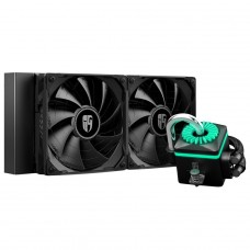 Water Cooler DeepCool Captain 240X RGB, 240mm, Intel-AMD, DP-GS-H12B-CT240XR