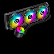 Water Cooler GameMax Ice Chill 360, ARGB, 360mm, Intel-AMD, Controladora, Controle Remoto, ICE CHILL 360 ARGB